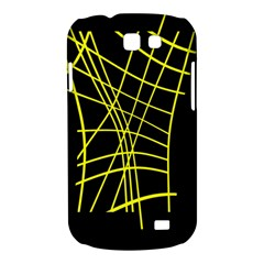 Yellow abstraction Samsung Galaxy Express I8730 Hardshell Case