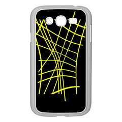 Yellow abstraction Samsung Galaxy Grand DUOS I9082 Case (White)