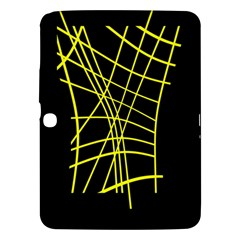 Yellow abstraction Samsung Galaxy Tab 3 (10.1 ) P5200 Hardshell Case