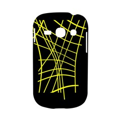 Yellow abstraction Samsung Galaxy S6810 Hardshell Case