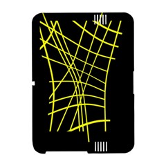 Yellow abstraction Amazon Kindle Fire (2012) Hardshell Case