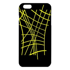 Yellow abstraction iPhone 6 Plus/6S Plus TPU Case