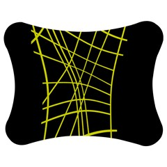 Yellow abstraction Jigsaw Puzzle Photo Stand (Bow)