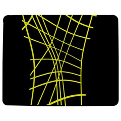 Yellow abstraction Jigsaw Puzzle Photo Stand (Rectangular)