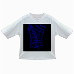 Neon blue abstraction Infant/Toddler T-Shirts