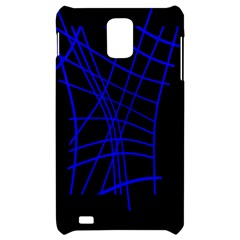 Neon blue abstraction Samsung Infuse 4G Hardshell Case
