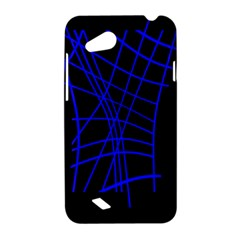 Neon blue abstraction HTC Desire VC (T328D) Hardshell Case