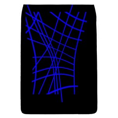Neon blue abstraction Flap Covers (S)