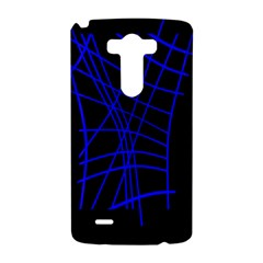 Neon blue abstraction LG G3 Hardshell Case