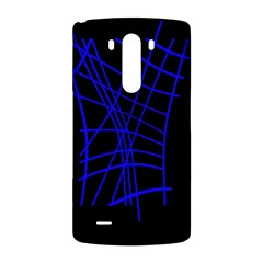 Neon blue abstraction LG G3 Back Case