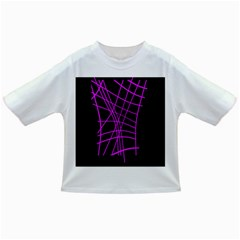 Neon purple abstraction Infant/Toddler T-Shirts