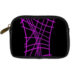 Neon purple abstraction Digital Camera Cases