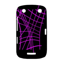 Neon purple abstraction BlackBerry Curve 9380