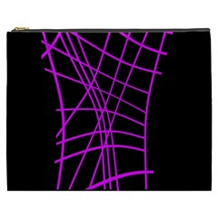 Neon purple abstraction Cosmetic Bag (XXXL)