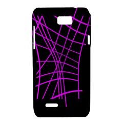 Neon purple abstraction Motorola XT788