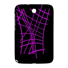 Neon Purple Abstraction Samsung Galaxy Note 8 0 N5100 Hardshell Case