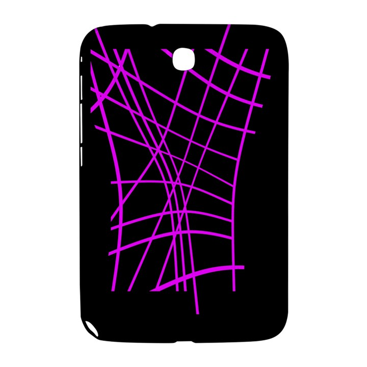 Neon purple abstraction Samsung Galaxy Note 8.0 N5100 Hardshell Case