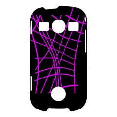 Neon purple abstraction Samsung Galaxy S7710 Xcover 2 Hardshell Case