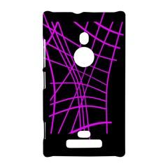 Neon purple abstraction Nokia Lumia 925