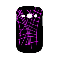 Neon purple abstraction Samsung Galaxy S6810 Hardshell Case