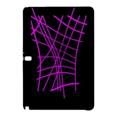 Neon Purple Abstraction Samsung Galaxy Tab Pro 12 2 Hardshell Case