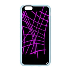 Neon purple abstraction Apple Seamless iPhone 6/6S Case (Color)