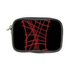 Neon red abstraction Coin Purse