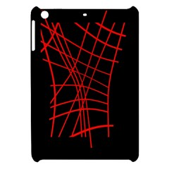 Neon red abstraction Apple iPad Mini Hardshell Case