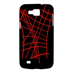 Neon red abstraction Samsung Galaxy Premier I9260 Hardshell Case