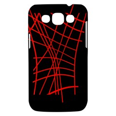Neon red abstraction Samsung Galaxy Win I8550 Hardshell Case