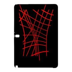 Neon red abstraction Samsung Galaxy Tab Pro 10.1 Hardshell Case