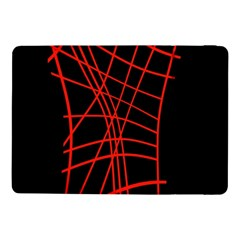 Neon red abstraction Samsung Galaxy Tab Pro 10.1  Flip Case