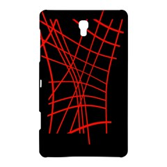Neon Red Abstraction Samsung Galaxy Tab S (8 4 ) Hardshell Case