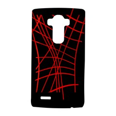 Neon Red Abstraction Lg G4 Hardshell Case