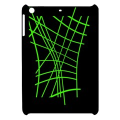 Green neon abstraction Apple iPad Mini Hardshell Case