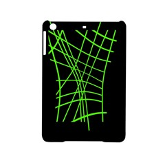 Green neon abstraction iPad Mini 2 Hardshell Cases