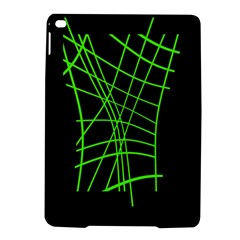 Green neon abstraction iPad Air 2 Hardshell Cases