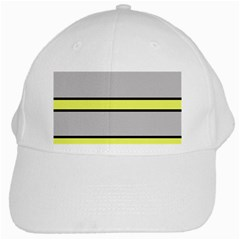 Yellow and gray lines White Cap