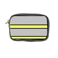 Yellow and gray lines Coin Purse