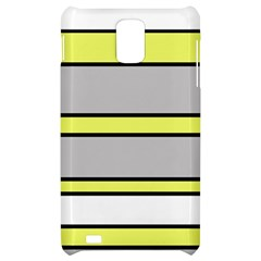 Yellow and gray lines Samsung Infuse 4G Hardshell Case