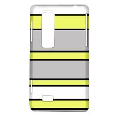 Yellow and gray lines LG Optimus Thrill 4G P925