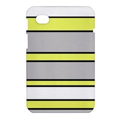 Yellow and gray lines Samsung Galaxy Tab 7  P1000 Hardshell Case