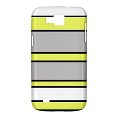 Yellow and gray lines Samsung Galaxy Premier I9260 Hardshell Case