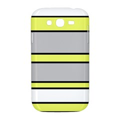 Yellow and gray lines Samsung Galaxy Grand DUOS I9082 Hardshell Case