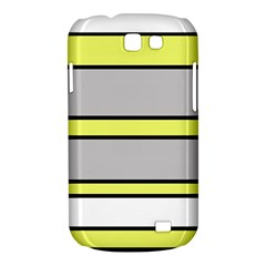 Yellow and gray lines Samsung Galaxy Express I8730 Hardshell Case