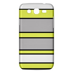 Yellow and gray lines Samsung Galaxy Mega 5.8 I9152 Hardshell Case
