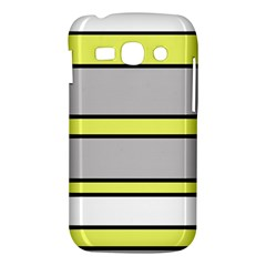 Yellow and gray lines Samsung Galaxy Ace 3 S7272 Hardshell Case