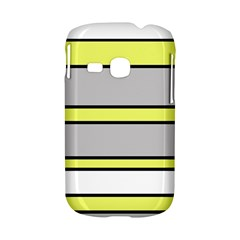 Yellow and gray lines Samsung Galaxy S6310 Hardshell Case