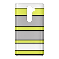 Yellow and gray lines LG G2