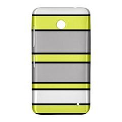 Yellow and gray lines Nokia Lumia 630
